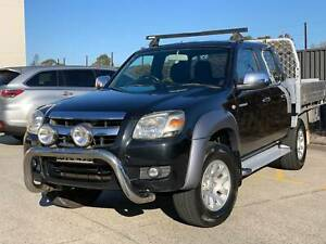 2008 MAZDA BT-50 TURBO DIESEL 4X4 AUTO DUAL CAB UTE South Windsor Hawkesbury Area Preview