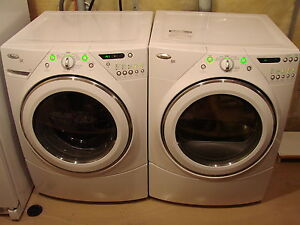 WHIRLPOOL DUET FRONT LOAD H.E. WASHER & DRYER SET