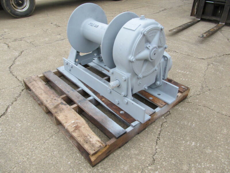 Braden Winch Model Ms20 45,000 Pound Line Pull Worm Gear Winch Unused