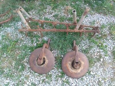 Two Disk Cultivator And Hare For Farmall 140 130 Super A 100 Cub A B Super C 20