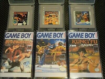 PIT FIGHTER, BEST OF THE BEST KARATE & KUNG FU MASTER - GAMEBOY GAMES - ALL