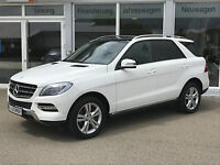 Mercedes-Benz ML 350 CDI BlueTEC 4Matic AHK Pano