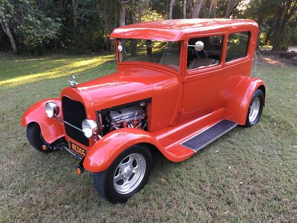 1929 Ford Tudor Hot Rod Full Resto immaculate condition
