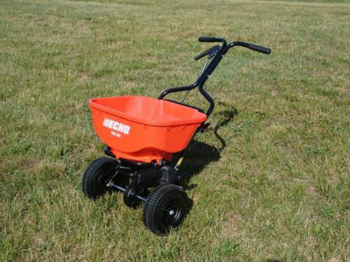 NEW ECHO RB-60 BROADCAST SPREADER, 60 LB HOPPER CAPACITY, SPREADS UP TO 8