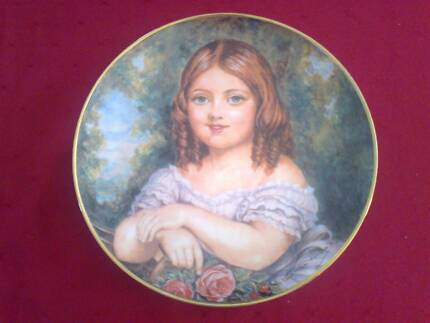 Lady Victoria - Her Majesty Queen Victoria as a Child Plate Acacia Gardens Blacktown Area Preview