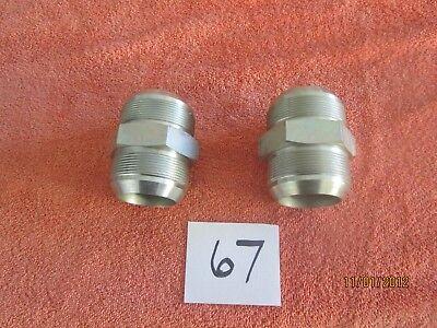 Weatherhead Hydraulic Adapter Fittings Lot 67 C5305x32 2 Unions