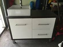 Second hand bathroom vanity & tall boy set in excellent condition Como Sutherland Area Preview