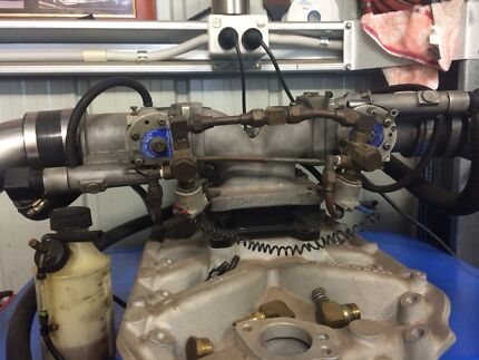Twin gas reasearch lpg throtle body v8 set up 4wd Beenleigh Logan Area Preview