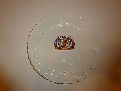Vintage Alfred Meakin King George VI/Queen Elizabeth Coronation Plate