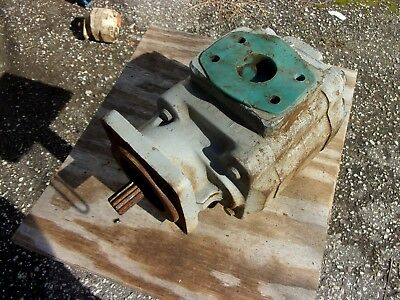 Commercial Intertech Hydraulic Power Unit Oil Pump Gear P50a342beor25-25 Crs