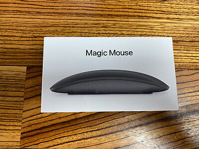 Apple Magic mouse 2 WIRELESS - MRME2Z/A - SPACE GREY