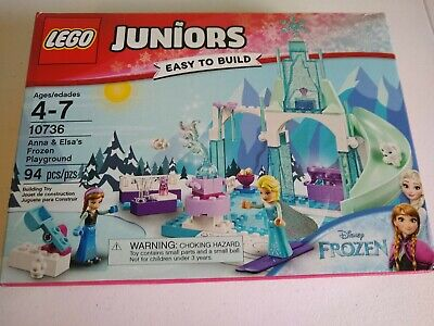 LEGO 10736 Juniors Disney Anna and Elsa's Frozen Playground - NEW Retired