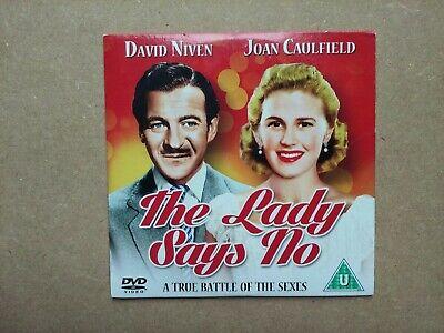 Promo DVD - The Lady Says No - 1951 B&W Comedy - Joan Caulfield, David Niven