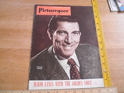 Picturegoer 1951 Film magazine Mario Lanza Michael Rennie Betty Grable