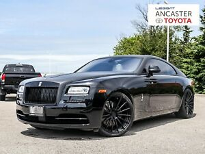 2016 Rolls Royce Wraith 624HP|NAVI|LEATHER|FULLY LOADED!!