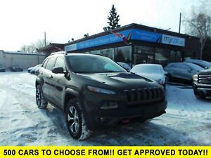 2015 Jeep Cherokee Trailhawk LEATHER, NAV, BACKUP CAM, HEATED...