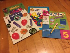Brand New Grade 5 Science/Math Books