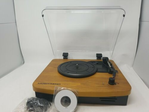 LP Record Player Vinyl Turntable Vintage Style Built In Ster