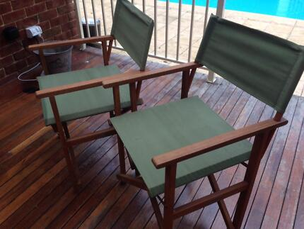 2 foldable outdoor chairs Casula Liverpool Area Preview
