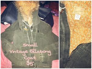 Vintage Style Billabong Coat