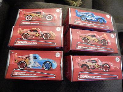 Cinderella Scene Setter (NEW Disney Pixar Cars Lightning McQueen 6 Car Set Scene Setters Die Cast 1:55)