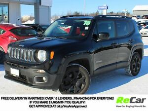 2015 Jeep Renegade North 4X4 | HEATED SEATS | BACKUP CAM