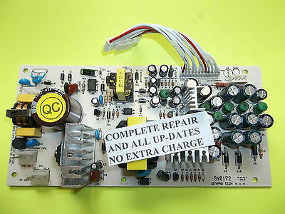 Sonicview 8000 Hd Power Supply Repair   Upgrade Service  Cooler More Efficient