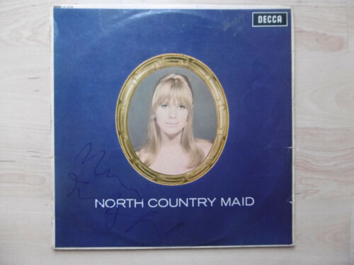 """Marianne Faithfull Autogramm signed LP-Cover """"North Country Maid"""" Vinyl"""