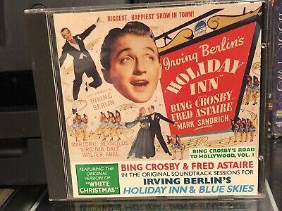 Irving Berlin Holiday Inn & Blues Skies (CD) Bing Crosby, Fred Astaire, NEW! Blue Skies Irving Berlin
