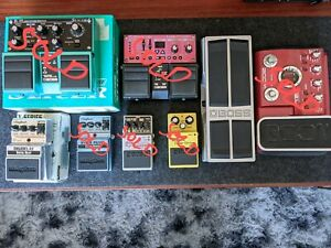 Pedal Purge! Boss Digitech and Zoom Pedals Happy to Post