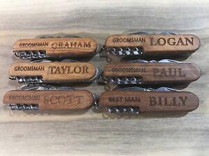 Custom engraved pocket knives