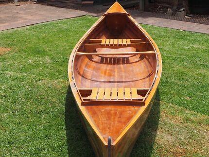 Western Red Cedar Canoes