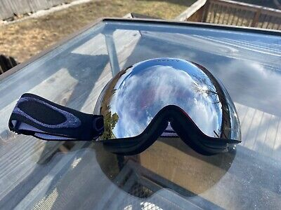 Oakley FLIGHT DECK XM PRIZM SNOW Goggles Black Iridium/ Black USED