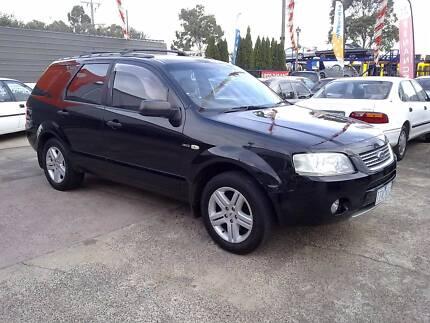 2005 Ford Territory ghia AWD 7 SEATER Wagon Melton Melton Area Preview
