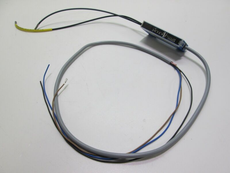 Automation Direct DFT-AN-1A Fiber Amplifier w/ Fibers 10-30VDC DC 1 Channel NPN
