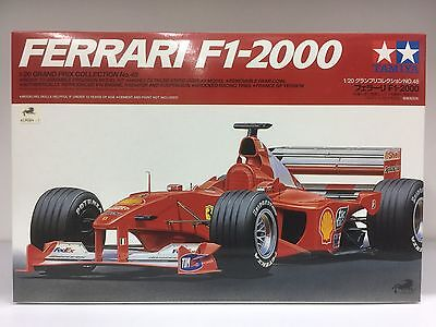 Tamiya 20049 1/20 Grand Prix Ferrari F1-2000 Full View Ltd JP Michael Schumacher