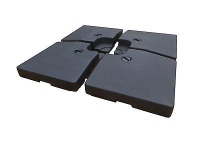 Platten Ständer Beschwerer 100 kg Sonnenschirm Schirmständer Kreuz Ampelschirm