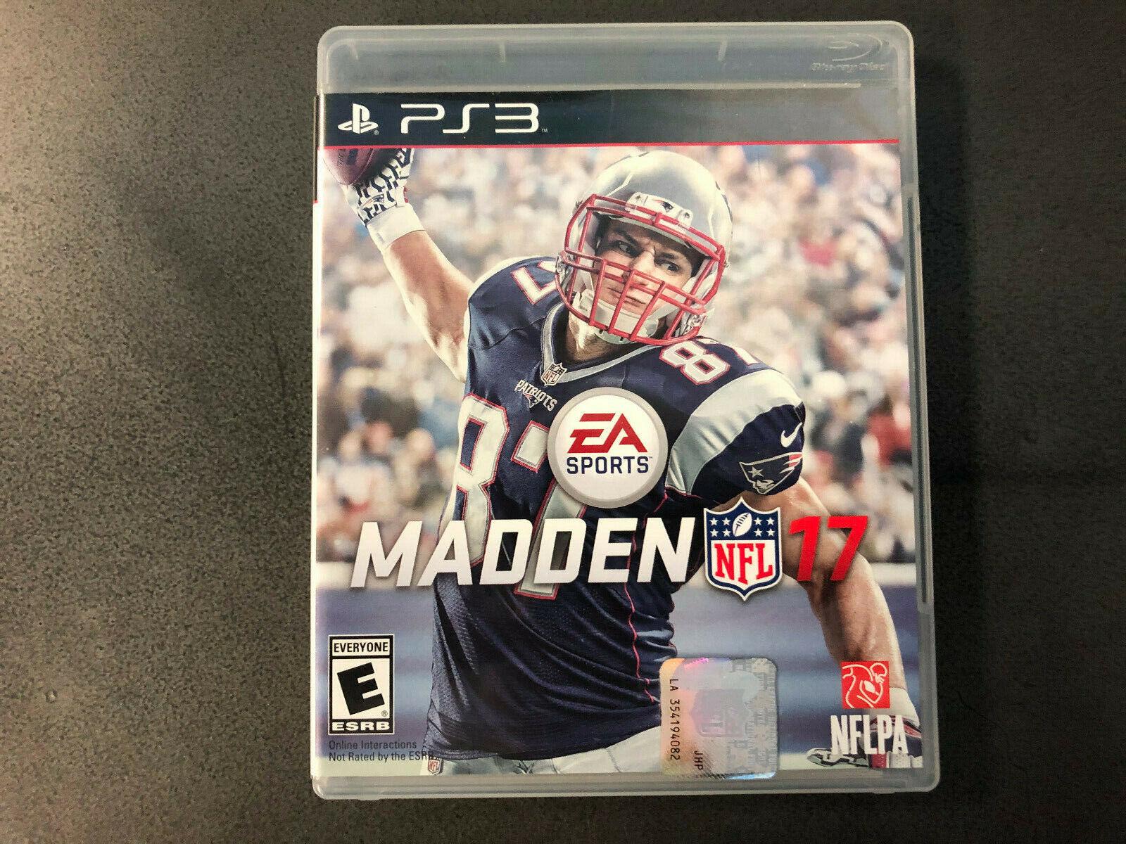 Madden NFL 17 Sony PlayStation 3 PS3, 2016 Black Label CIB RARE Tested  - $22.00