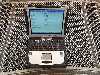 Panasonic  Cf -19 Toughbook  Mk5  i5 Win 10 SSD Diagnostics RS232 Touchscreen