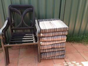 Outdoor chairs Holsworthy Campbelltown Area Preview