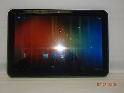 Motorola Xoom Tablet 32Gb 10 1  Wi Fi  Green   41260