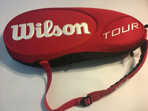 Wilson Tour Thermoguard Multi Racquet Compartments Red Tennis Bag Backpack