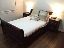 Sleigh Double Bed & Bedside Tables West Ryde Ryde Area Preview