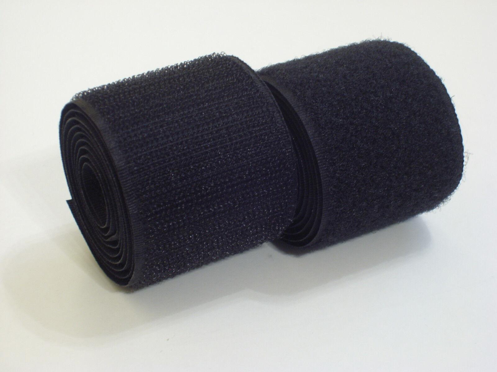 Finden, vergleichen, kaufen - 0,35€/m-29,50€/m   Klettband zum Aufnähen   Farbe Schwarz in Industriequalität  auf eBay.de ab 1.0 EUR