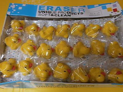 10 Enten Radiergummi - Duck Eraser - Mitgebsel Kindergeburtstag N 109