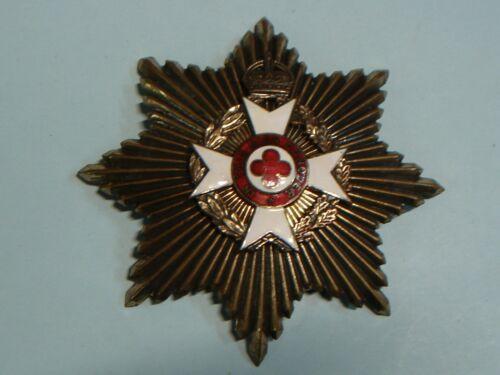 Large Great Britain Order Of St. John Breast Star Badge Maker Agnew