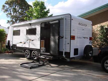 2015 Custom built 23ft Evolution Wheelchair accessible caravan Ballarat Central Ballarat City Preview