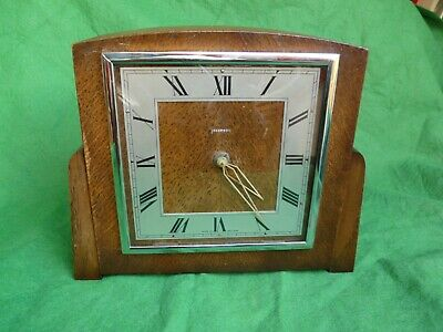 1950's INGERSOLL 8 DAY MANTLE CLOCK - SERVICED & WORKING