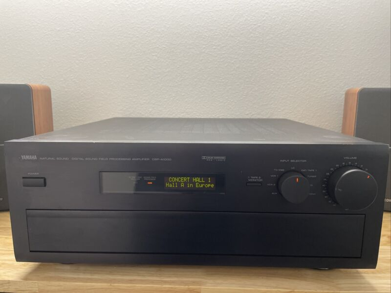 Rare Yamaha DSP-A1000 5 Channel Amplifier Tested And Working No Remote