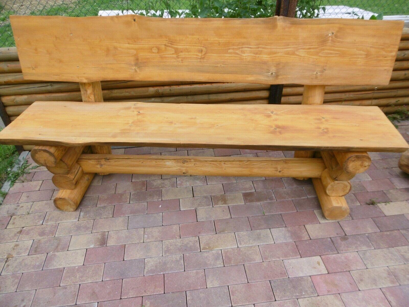 Holzbank Gartenbank Sitzbank Bänke Massivholz aus Sibirischer Lärche